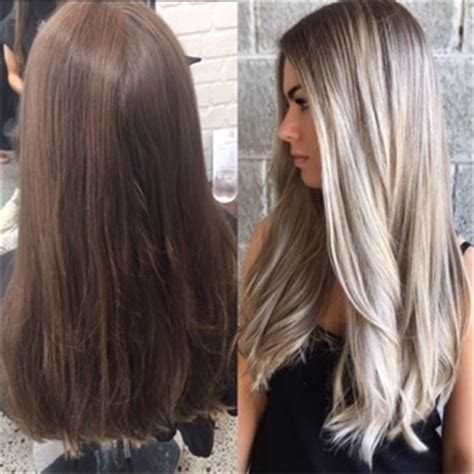 hair color makeover makeover microlights and smart toning for silvery
