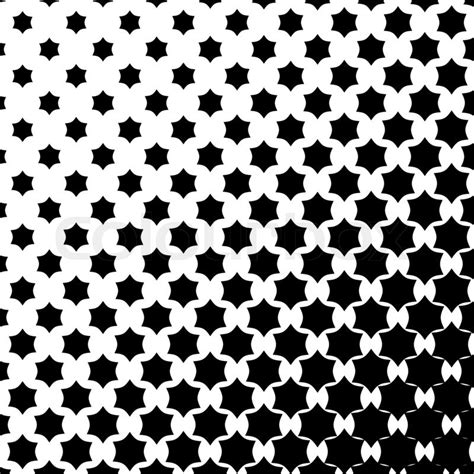 star pattern black and white stars pattern in black and white tone stock photo
