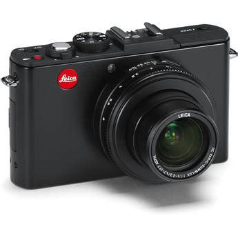 Leica D 3 Ultracompact Digicam Packs In 10 Megapixels by Leica D 6 Digital Matte Black 18461 B H Photo