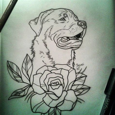 rottweiler tattoo designs 25 best ideas about traditional flower tattoos on