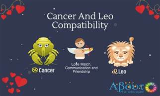 cancer and leo love compatibility friendship and