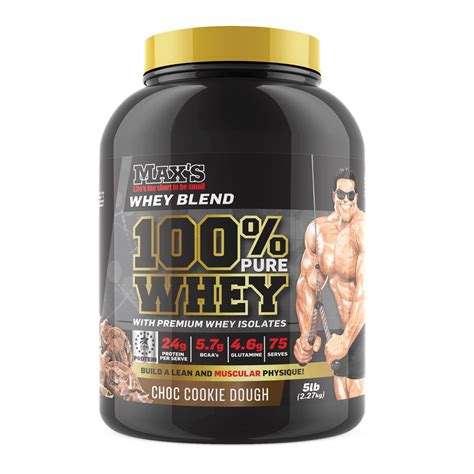 Whey Protein Isolated max s 100 whey protein 100 whey protein isolate blend