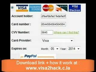 credit card template generator 2010 credit card generator compatible