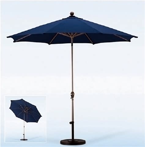 California Patio Umbrellas California Umbrella 9 Foot Aluminum Patio Umbrella