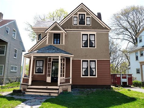 house color schemes improve curb appeal before after photos