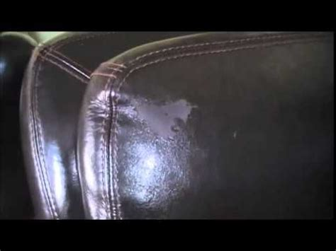 Faux Leather Is Peeling by How To Fix A Peeling Leather Cleaning Coats Paint And We