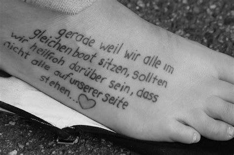 tattoo lyrics desmond and the tutus quotes foot tattoos for girls quotesgram
