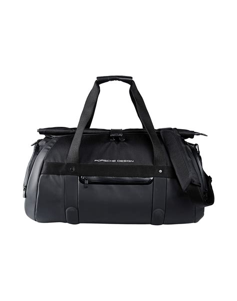 porsche pouch lyst porsche design travel duffel bag in black for men