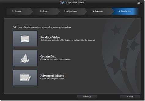 cyberlink powerdirector slideshow templates cyberlink power director editing tool with