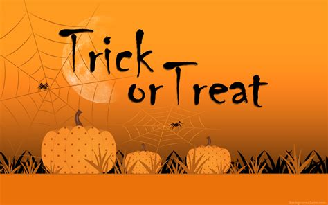 trick  treat background background labs