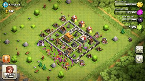 layout coc town hall level 4 level 5 town hall layout www imgkid com the image kid