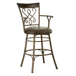 Bar Stools With Armrests Steve Silver Carmona 30 In Jumbo Swivel Bar Stool With