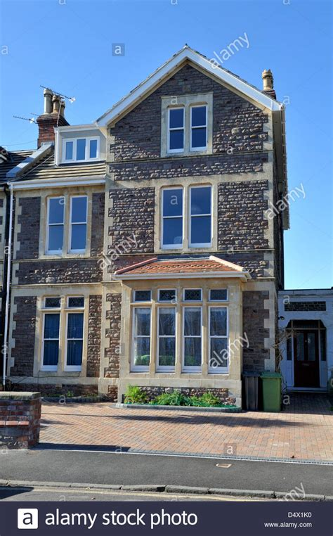 3 story house victorian stone built semi detached urban 3 story house
