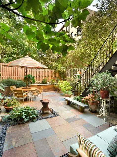 houzz backyard patio 23 small backyard ideas how to make them look spacious and