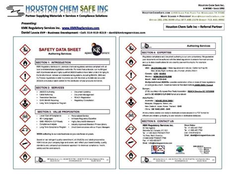 Ghs Safety Data Sheet Template Sletemplatess Sletemplatess Safety Data Sheet Template 2017