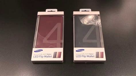 Samsung Led Wallet Galaxy Note 4 samsung galaxy note 4 led flip wallet
