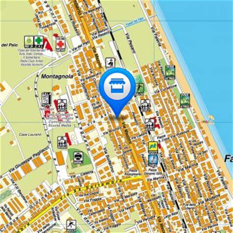 porto sant elpidio mappa mappe porto sant elpidio cartografia comune cartina