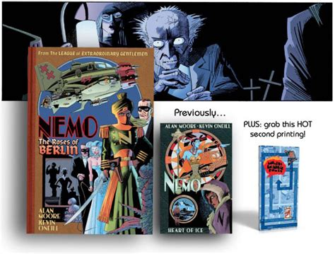 libro nemo roses of berlin all new league adventure in 2014 as nemo heads to darkest top shelf productions