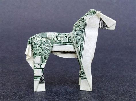 Dollar Origami Animals - beautiful money origami pieces many designs made of