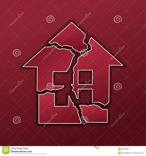 a broken home stock illustration image of money selling