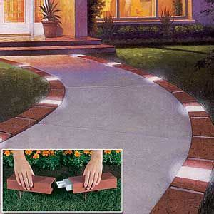 Landscape Edging With Solar Lights 25 Best Ideas About Driveway Edging On