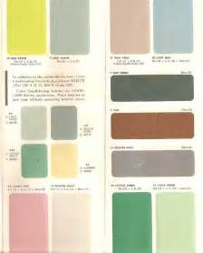 authentic 1950s interior paint colors 0 00 populuxebooks retro info for your mod style