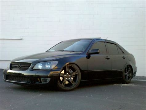 lexus is300 lowered any pics of slammed is300 with stock wheels clublexus