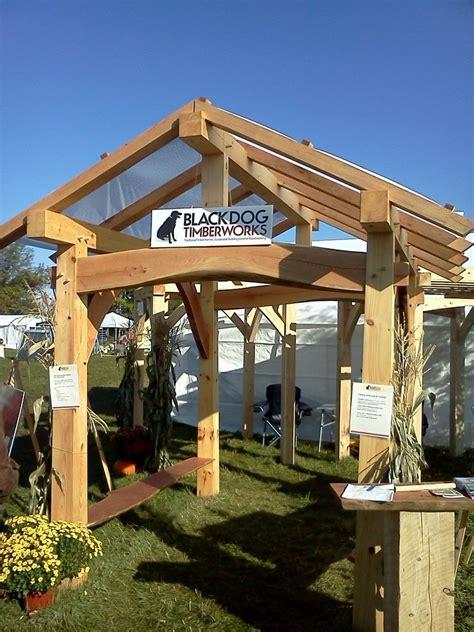 pavillon pavillion crafted timber frame pavilion by black