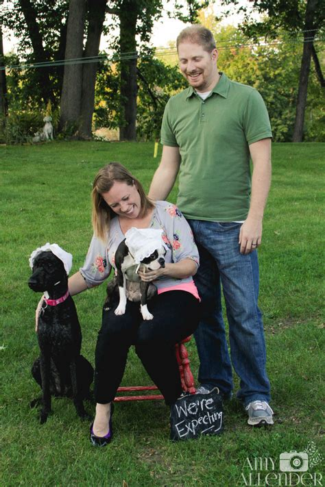 baby announcement with expecting baby announcement with dogs ideas