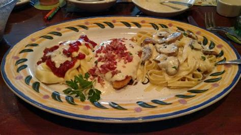 at t thanks olive garden the northern tour of italy chicken lombardy asiago tortellini and fettuccine with garlic parm