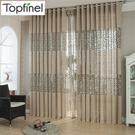 Living Room Jcpenney Kitchen Curtains Aliexpress Buy Top Finel Modern Luxury Window