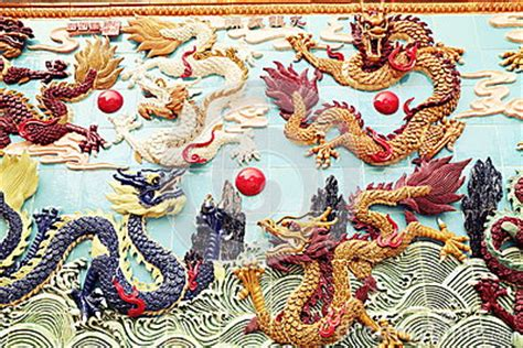 oriental design ancient chinese dragon on stock photo chinese dragon wall china stock photo image 47967245