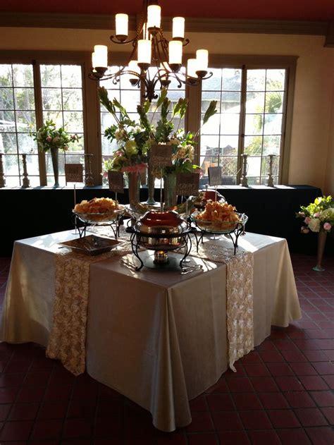 wedding reception food table wedding ideas
