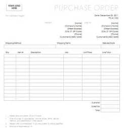 Blankpurchase Order Form Ordericon Purchase Order Form 第2页 点力图库 Free Blank Purchase Order Template