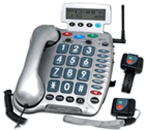 sos emergency phones wireless pendant telephone 911 alert