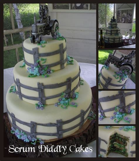Hochzeitstorte Traktor by Tractor Wedding Topper Cake Ideas And Designs