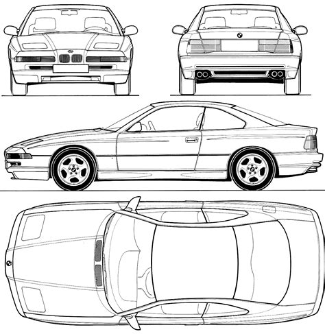 8 Series Sketches by 850csi Cd00125 Is For Sale
