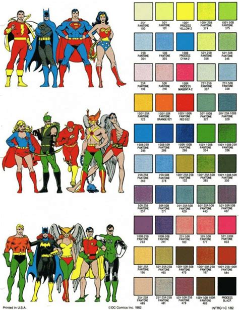 school comic book heroes color sheet mightymega