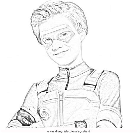 printable coloring pages henry danger henry danger sketch coloring page