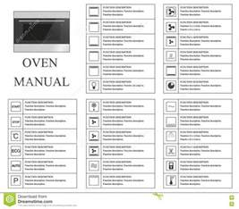Kitchen Timer by Oven Manual Symbols Instructions Signs And Symbols For