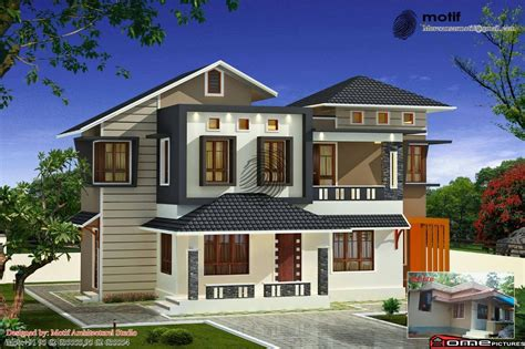 kerala home design double floor 1642 square feet 3bhk double floor kerala home design with