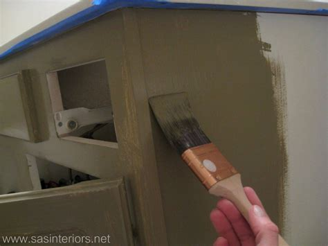 painting over stained cabinets in the kitchen how to glaze a cabinet using stain jenna burger