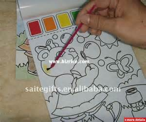 paint with water coloring books paint with water children drawing coloring book hong
