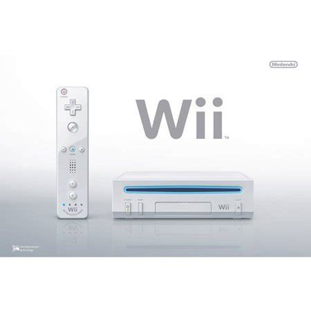 nintendo wii console used refurbished nintendo wii console white walmart