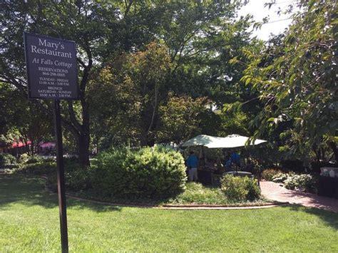 s restaurant at falls cottage greenville menu