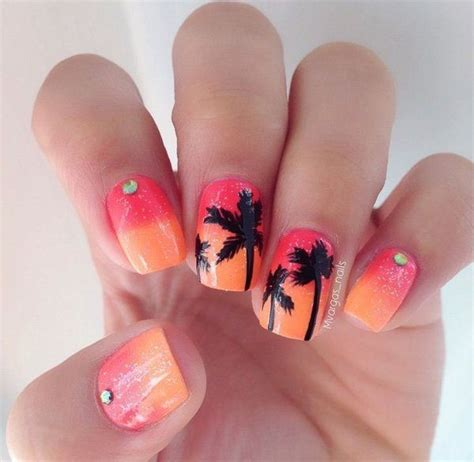 Einfache Nägel by 15 Cool Tropical Nail Designs For Summer