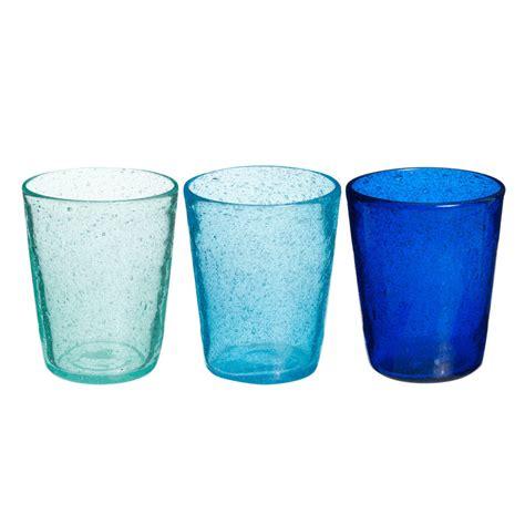 bicchieri maison du monde 3 bicchieri a bolle in vetro maisons du monde