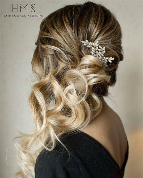 Wedding Hairstyles For Bridesmaids With Hair by 17 Best Ideas About Bridesmaids Hairstyles On