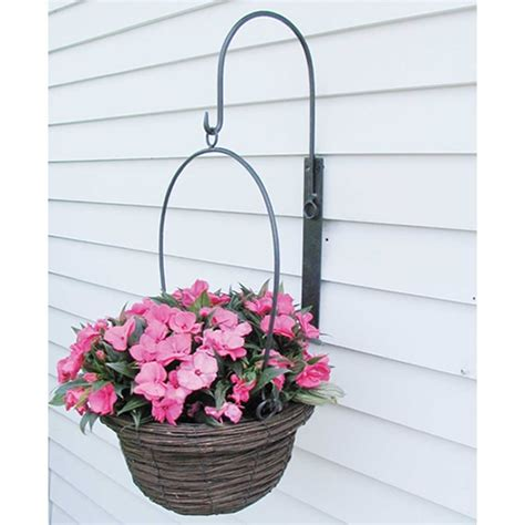 wall hanging planters hanging wall planter with basket