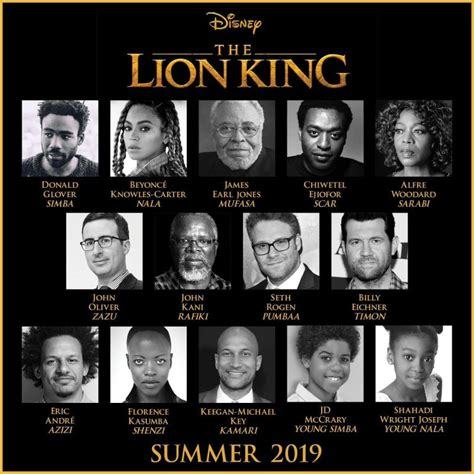 lion king   theaters summer   beyonce